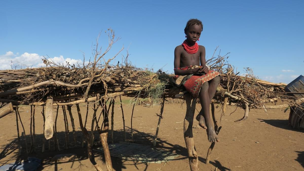 bambino in etiopia