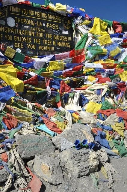 bandiere di preghiera nepal