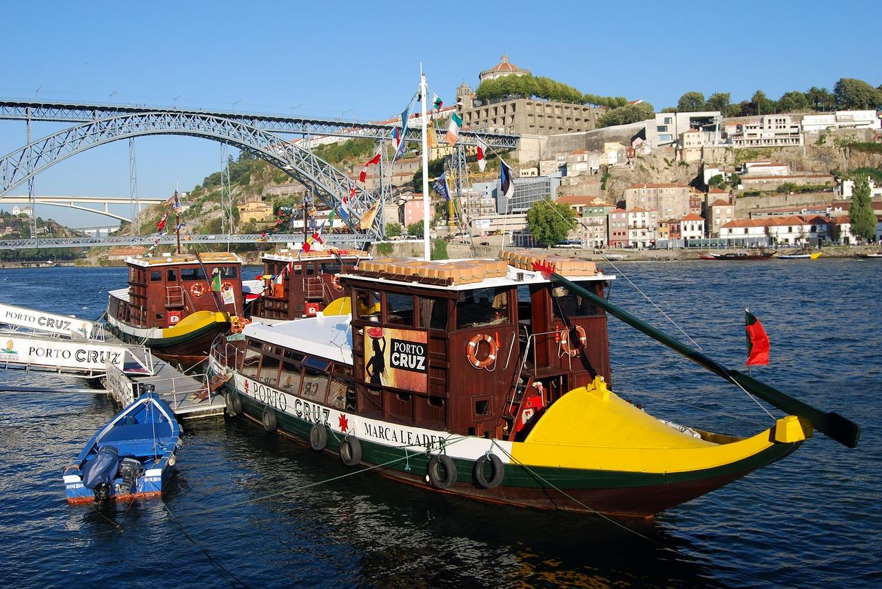 vista dall'alto di Porto