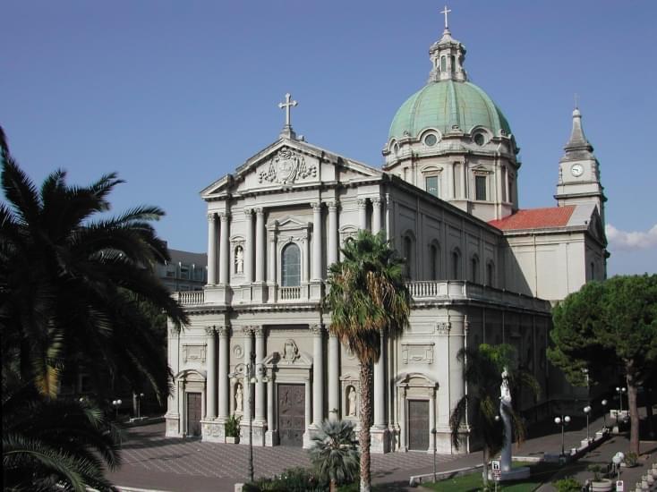 barcellona pozzo di gotto basilica san sebastiano