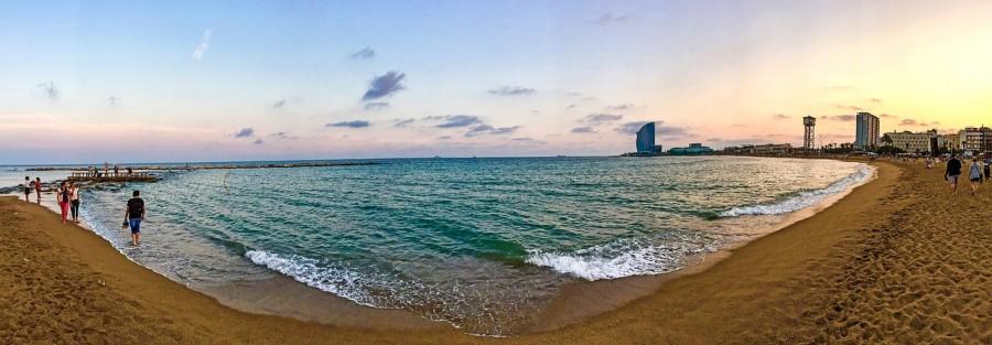 barcellona festa spiaggia