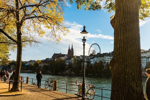 basilea svizzera autunno 1