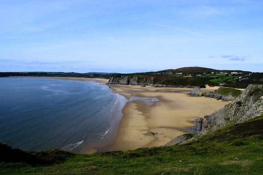 Rhossili bay, Swansea