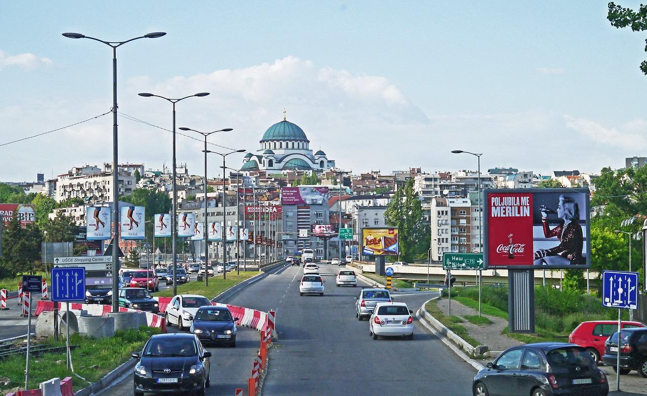 Belgrado in Serbia
