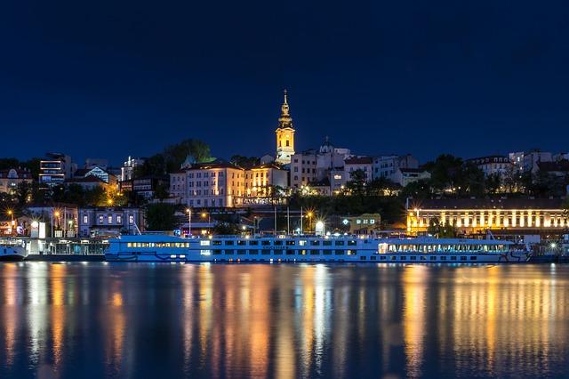 belgrado serbia fiume architettura