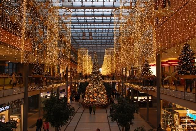 berlino natale centro commerciale