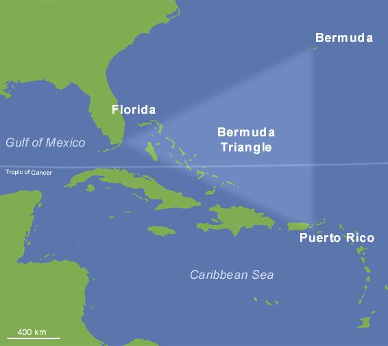 Mistero triangolo delle bermuda