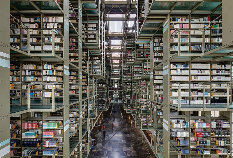 Biblioteca Vasconcelos di Città del Messico, Messico