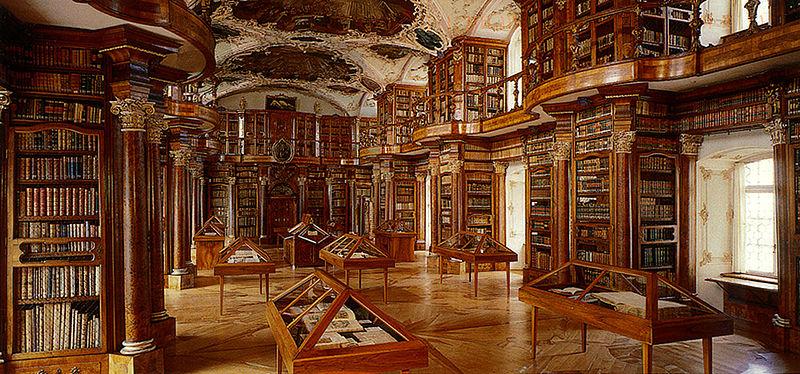 Biblioteca abbaziale di San Gallo, Svizzera