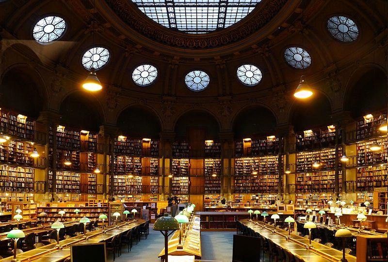 Biblioteca Nazionale di Parigi, Francia
