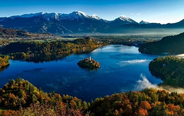 bled isola chiesa