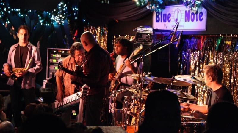 Esibizione al Blue Note