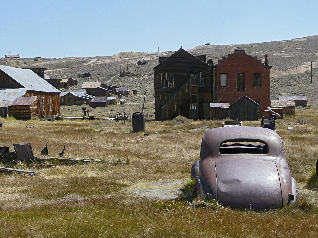 Costruzioni nella cittadina di Bodie