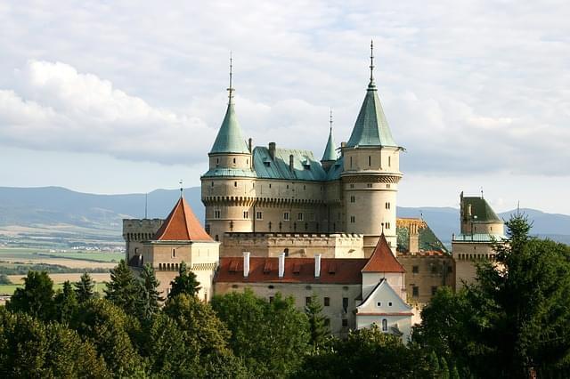 bojnice slovacchia castello 1