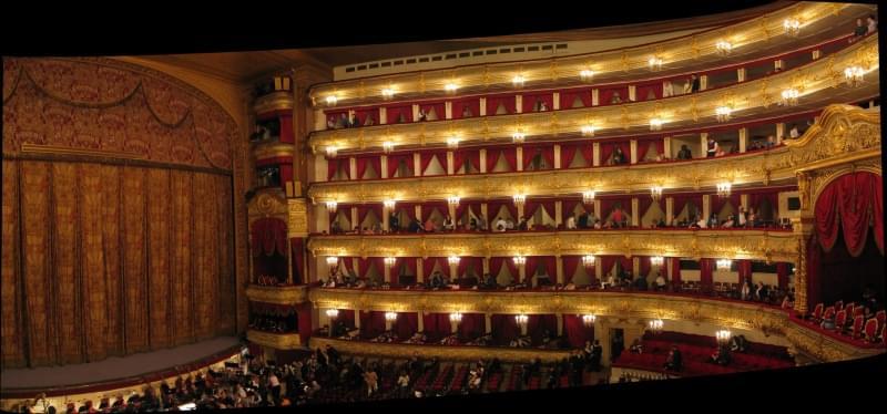 Teatro Bolshoi, Mosca - Russi