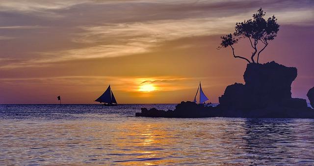 boracay beach filippine serata