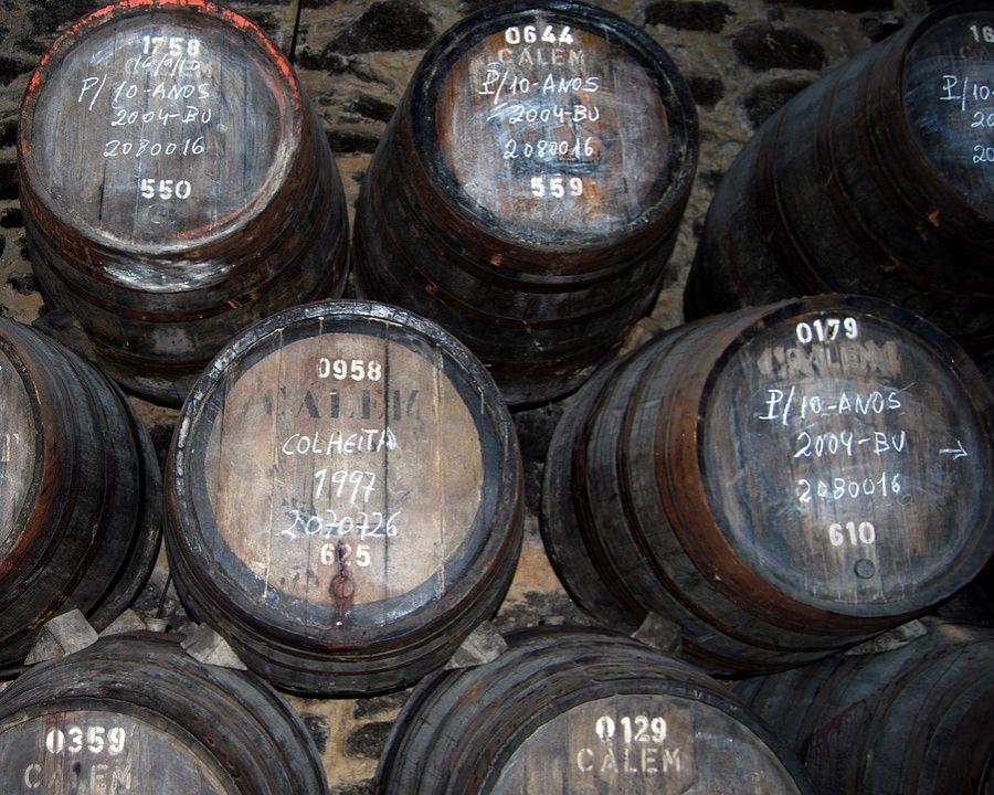 cantine vino porto