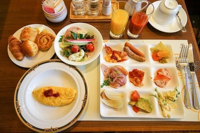 english breakfast buffet