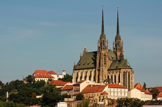 Castello di Spilberk Brno repubblica ceca