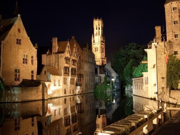 Bruges città romantica