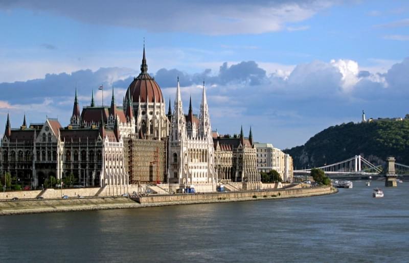 La sede del parlamento Ungherese