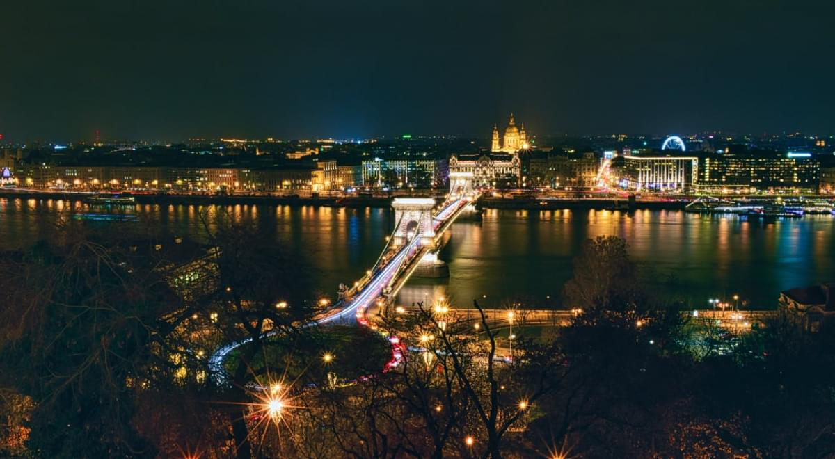 budapest luci notte