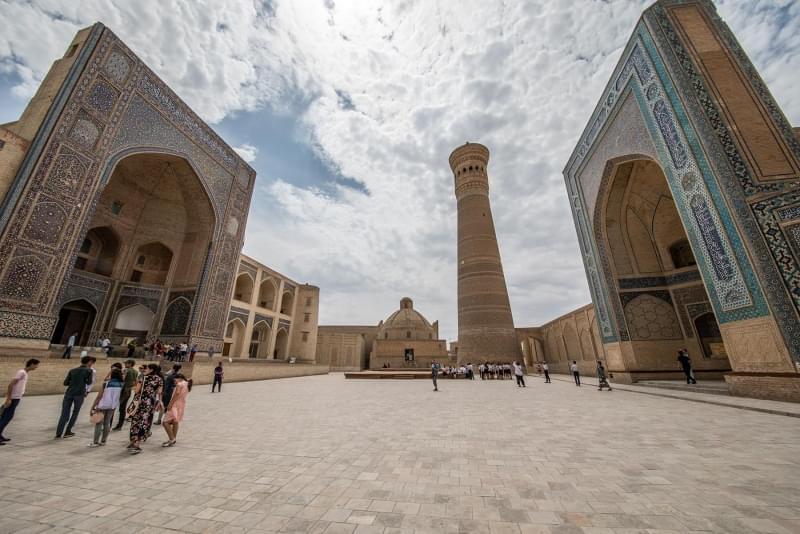 bukhara kalon madrasa moschea minareto uzbekistan 1