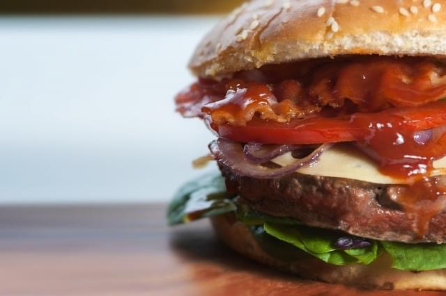 burger panino fast food cibo