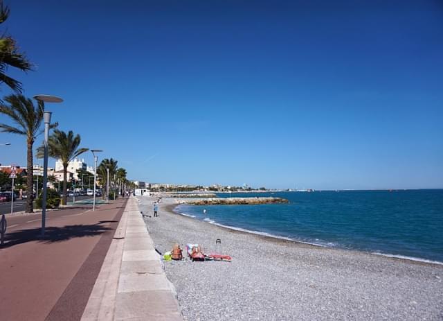 cagnes sur mer beach 2