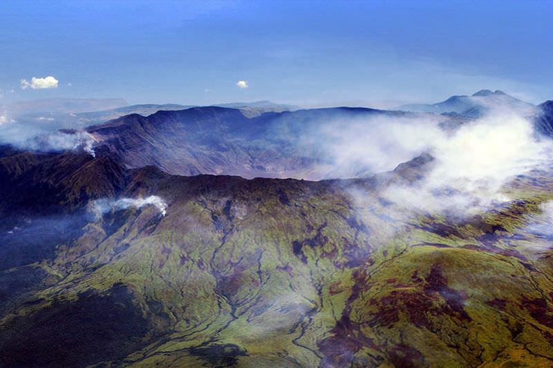 Il cratere del vulcanoTambora