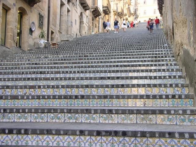 caltagirone scalinata