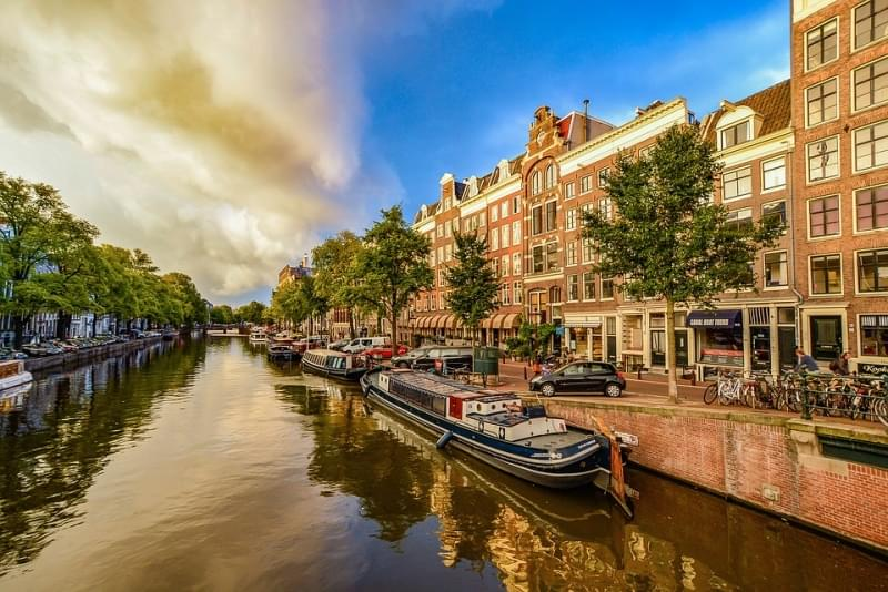 canale di amsterdam