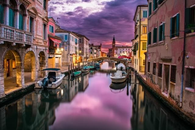 canale venezia italia acqua fiume