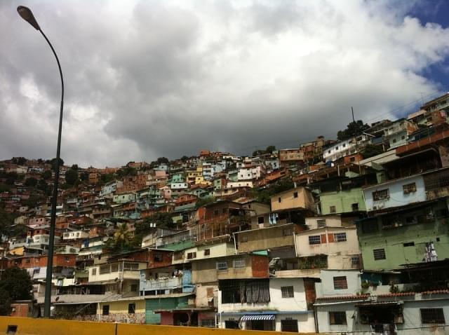 caracas venezuela barriada quartiere