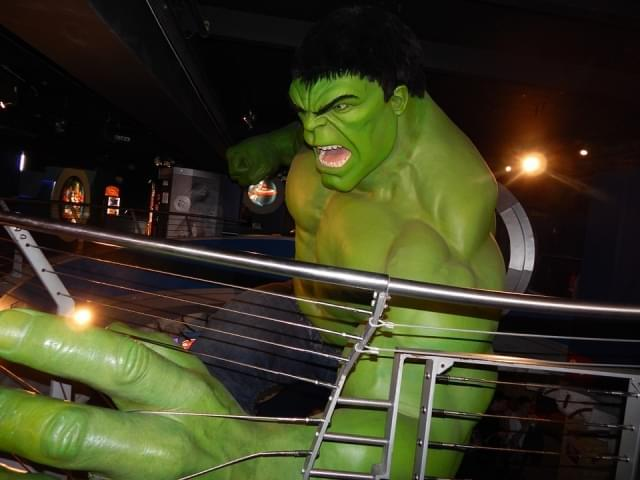 carcassa statua cera hulk