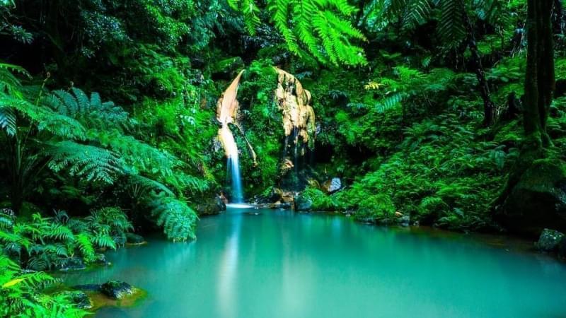 cascata azzorre portogallo 1