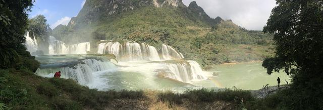cascata detian alta da vietnam