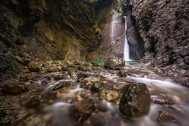 cascata savica slovenia