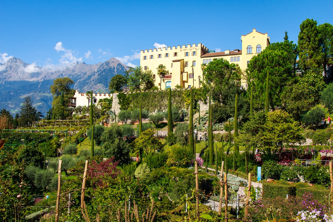 10 giardini di castel trauttmansdorff