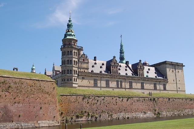castello di amleto a Helsingor