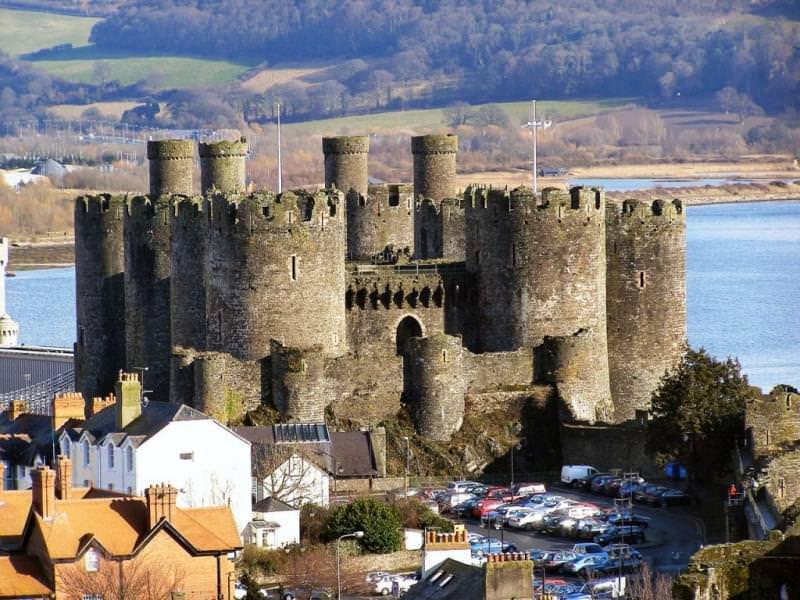 Castello di Conwy - Galles