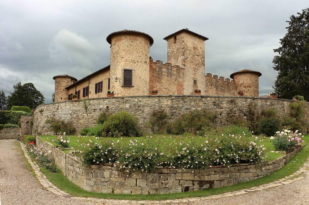 castello di gabbiano mercatale in val di pesa firenze