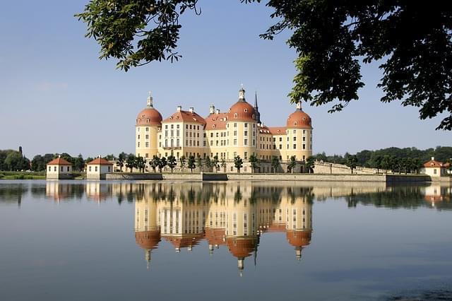 castello di moritz riflesso