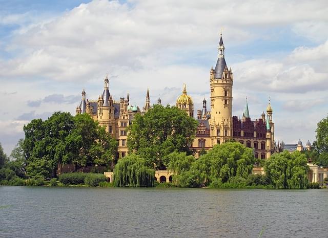 castello di schwerin lago schwerin