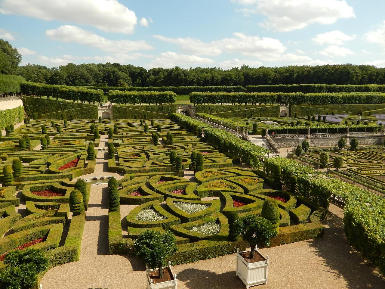 13 giardini del castello di villandry
