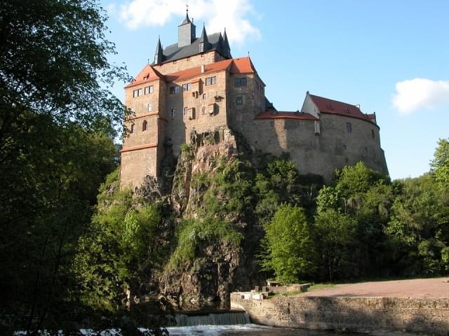 castello kriebstein fiabesco