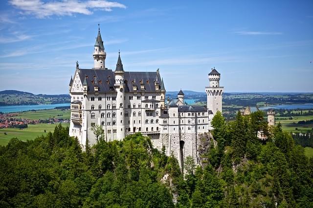 Castello di Neuschwanstein esterno