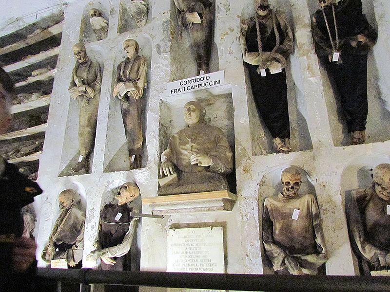15 catacombe palermo