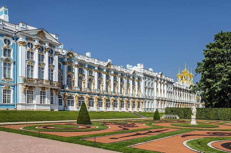 catherine palace facciata