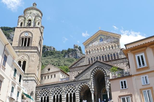 cattedrale di amalfi facciata
